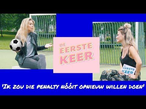 Anouk Hoogendijk: 'Ik zou die penalty nooit opnieuw willen doen' - DE EERSTE KEER