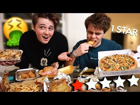 Eating The Worst Reviewed Takeaway Restaurant In London