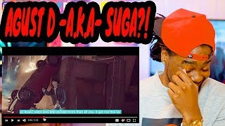BLACK GUY REACTION to Agust D 'give it to me' | MV