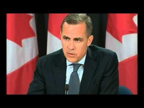 Carney 'honoured' to get top Bank of England job
