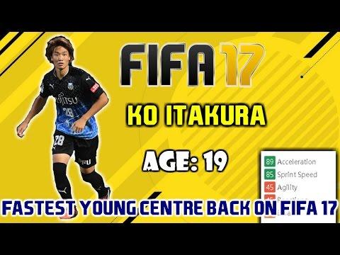 THE FASTEST YOUNG CENTRE BACK ON FIFA 17!! | HIDDEN GEM | ITAKURA |