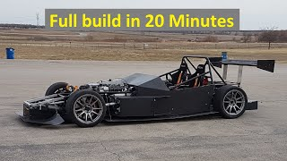 E55 ASL Home Built Race Car - All of 2019 in 20 minutes