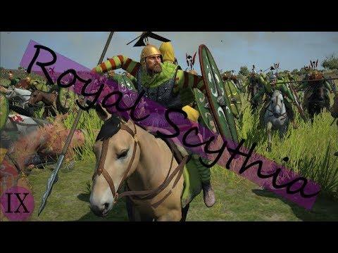 Total War Rome II Royal Scythia IX: Beware the Heavy Cav ...