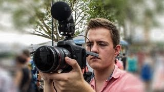 Using the RØDE Stereo VideoMic Pro for news & documentary filmmaking