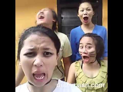 video lucu dubsmash - goyang dumang (kompilasi oyotfams)