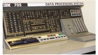 IBM 705 Mainframe Computer - 1957 - 1960
