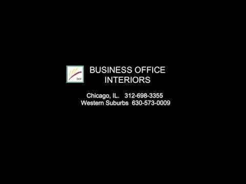 Business Office Interiors - Chicago Office Mail Room Furniture
