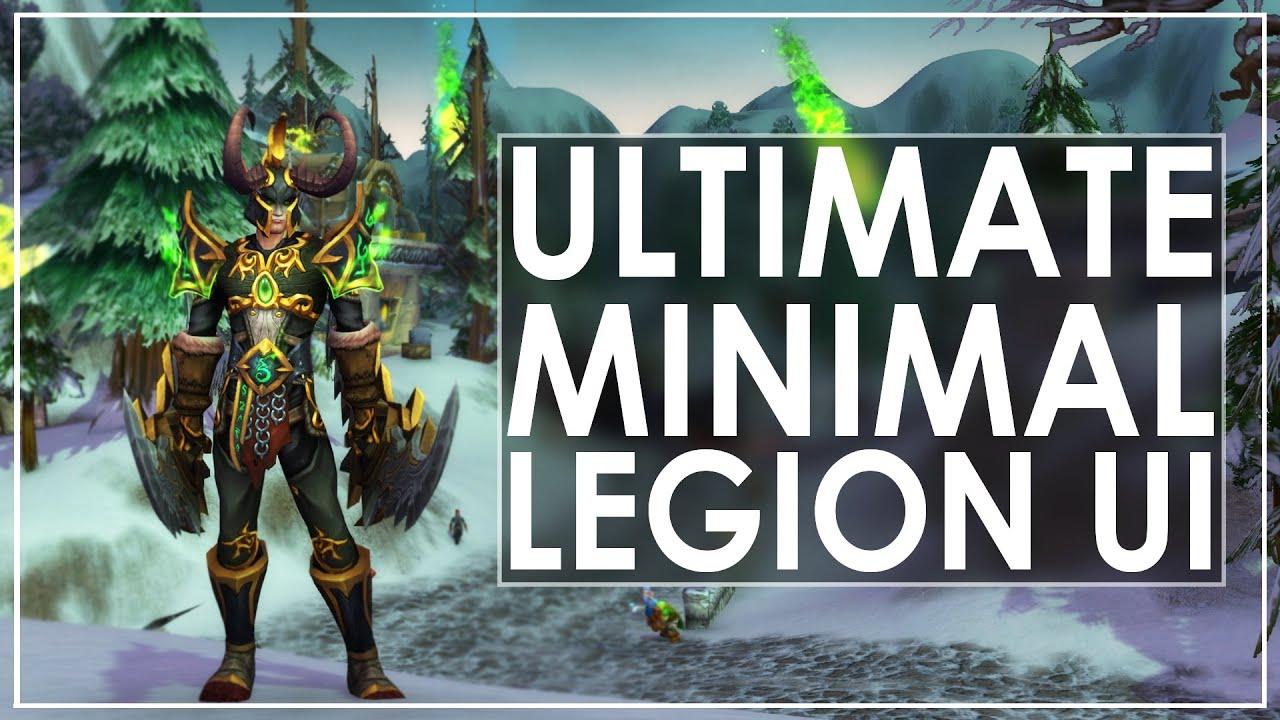 WoW Legion Prep: My Best Minimal UI & Awesome Keybinds