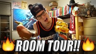 how to decorate your room lika boss paul s dorm room tour