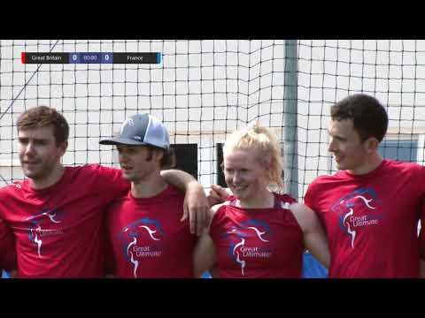 Download 2019 European Ultimate Championships (EUC) - Mixed Final - France vs GB