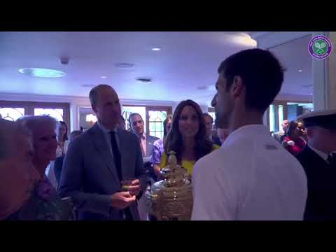 William & Catherine Swap Parenting Tips & Watch Novak Djokovich Win Mens Wimbledon Tennis Final 2018