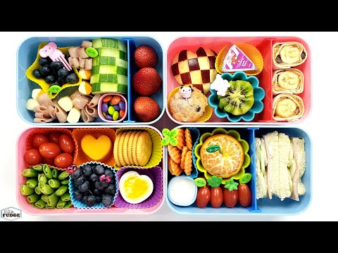 HEALTHY School Lunch Ideas In 10 minutes or LESS 🍎 YOU CHOOSE The Lunch