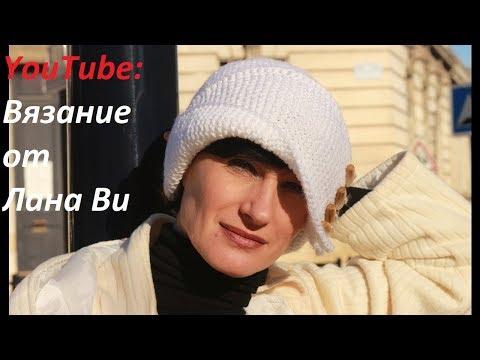 Вязаная шапочка Робин Гуда: 2 видео. Шапка спицами лицевой и платочной вязкой. Вязаные шапки спицами