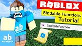 Roblox Bindable Events Tutorial Youtube