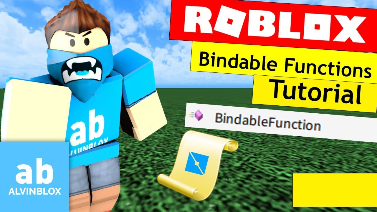 Roblox Bindable Functions Tutorial Youtube