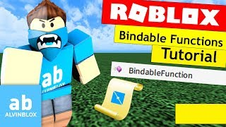Roblox Bindable Functions Tutorial