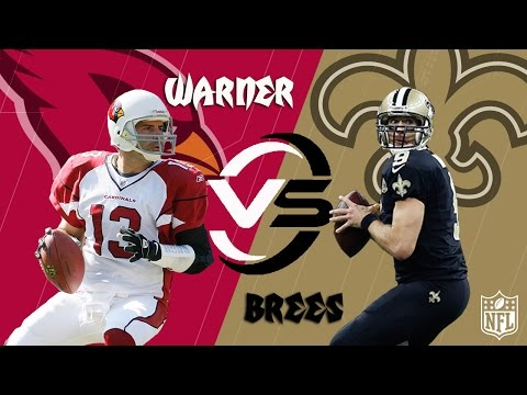 Kurt Warner vs. Drew Brees | Cardinals vs. Saints (Week 15, 2007) | NFL Classic Highlights