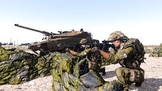 Arma 3 : World War Z | Jerusalem - Israel army vs Zombies & Demons