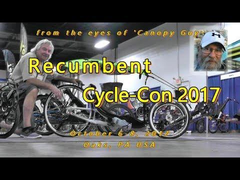 Recumbent Cycle-Con 2017, bikes, trikes, quads, accessories ...., & (1) canopy!