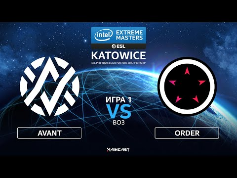 ORDER vs Avant Gaming vod
