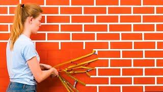 ٣٥ من أفكار الديكور المذهلة لتغيير تصميم جدرانك المملة