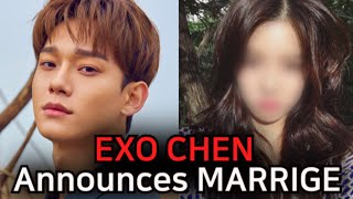 Breaking Exo Chen Is Getting Married! His Handwritten Letter For Exo-l