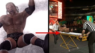 10 Times You Could Seriously Injure An Opponent In WWE Games