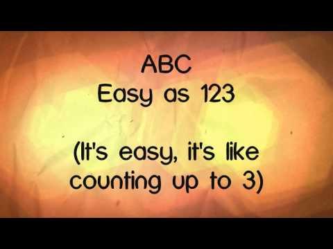 ABC   Ariana Grande Lyrics HD