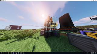 minecraft RFTools wither farm automation