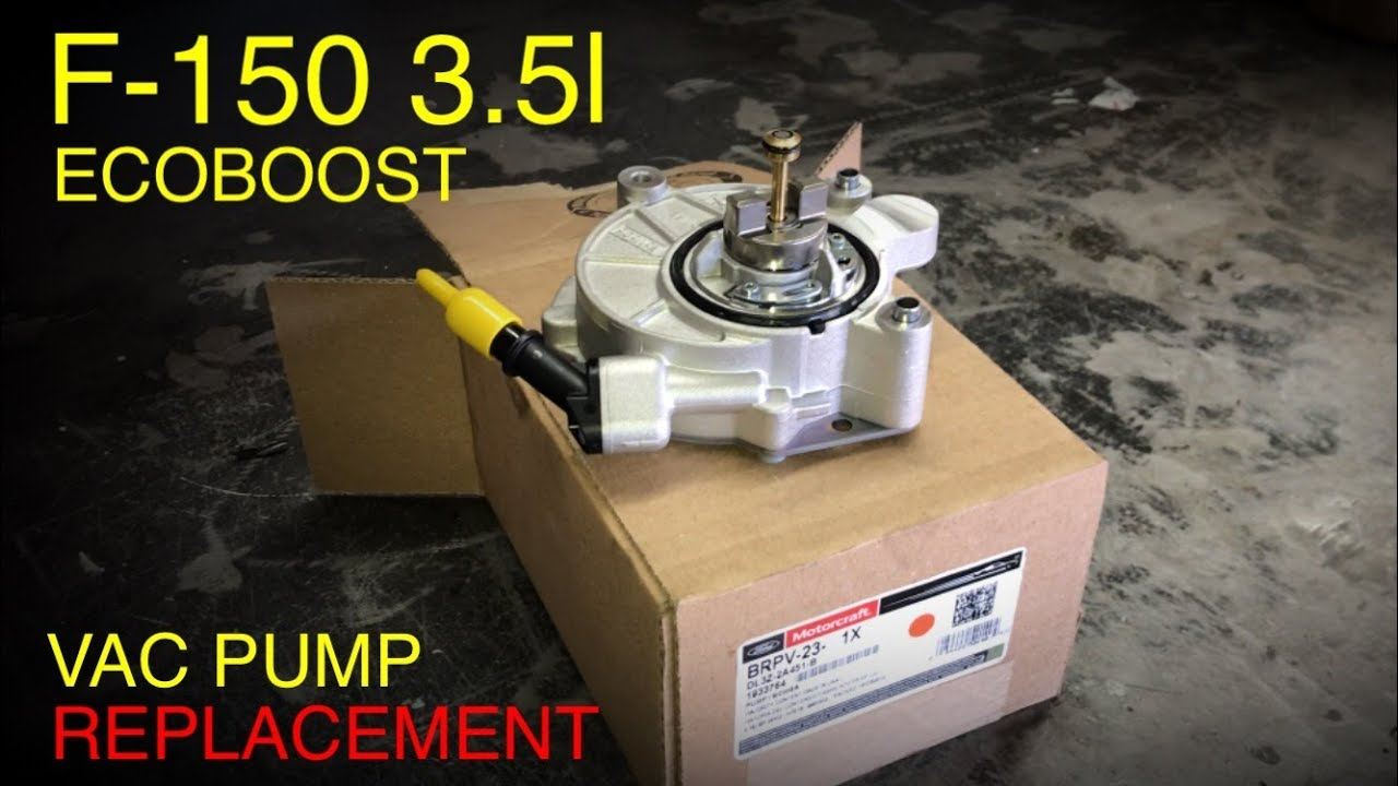 What Is Ecoboost >> Ford F-150 3.5 Ecoboost Vacuum Pump & Seal Replacement - YouTube
