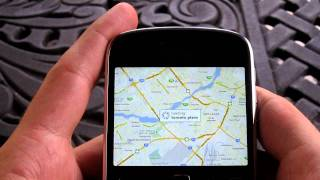 Google Maps for Blackberry Bold 9900 Review Free HD Video