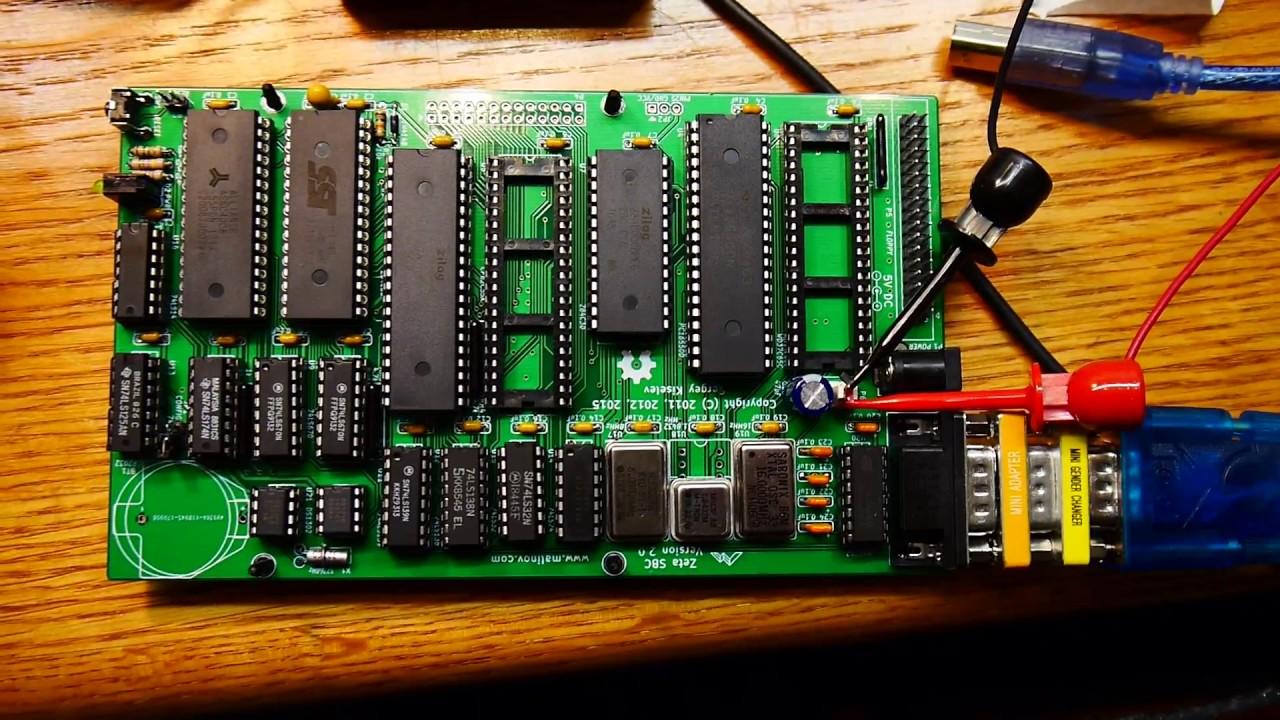 #133 Zeta SBC Z80 computer complete