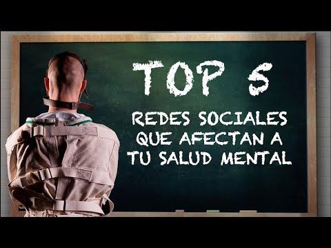 Top 5 Redes Sociales Que Afectan A Tu Salud Mental Youtube