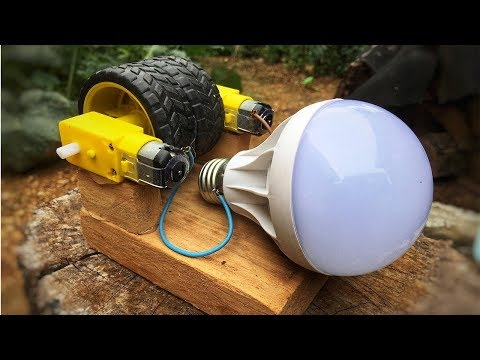 DIY Free Energy Converter Generator , Homemade new science experiment project