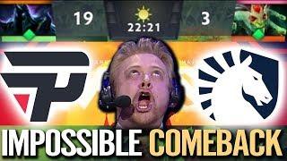 DOTA 2 IMPOSSIBLE COMEBACK - Liquid.Miracle [Medusa] Fastest Farm Ever