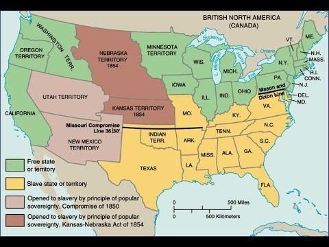 The Kansas Nebraska Act - YouTube