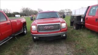 2008 GMC Sierra 1500 SLE Crew Cab pickup truck for sale | no-reserve auction April 26, 2017