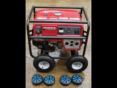HOW TO INSTALL BIGGER TIRES AND WHEELS ON YOUR GENERATOR ~