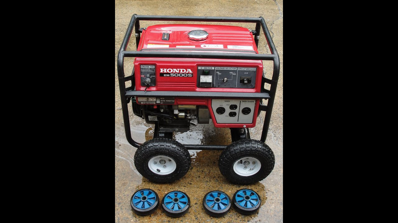 "HOW TO INSTALL BIGGER TIRES AND WHEELS ON YOUR GENERATOR ""FAT"