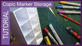 DIY Copic Marker Storage unit ✬ by Sakuems
