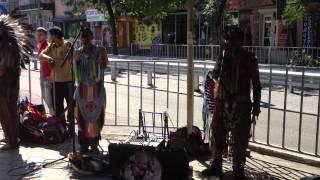 Индейцы с Эквадора в Нальчике (часть 2)