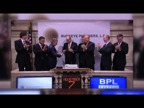 7 November 2011 Buckeye Partners Celebrates 25 Years of Trading rings the NYSE Closing Bell