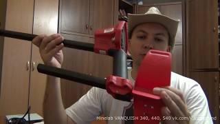 Minelab Vanquish 540 крупным планом! Подлокотник, Штанга, Наушники, Катушки, Вес, Ёмкость