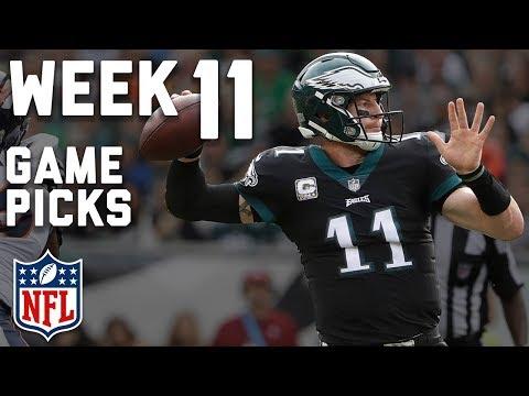 Week 11 NFL Game Picks in Under 3 Minutes⏱🏈  | NFL Highlights
