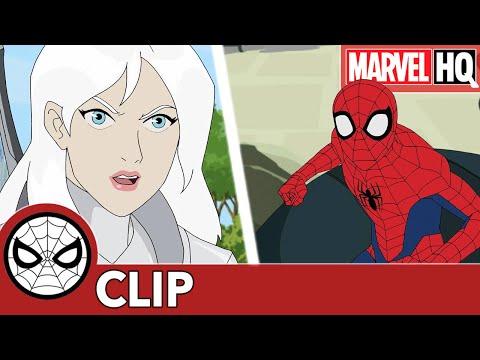 """SNEAK PEEK - 'Superior Spidey' vs Ock Bot in Marvel's Spider-Man """"My Own Worst Enemy"""""""
