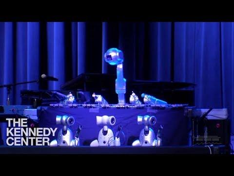 Robot Music - featuring Shimon, the robotic marimba player