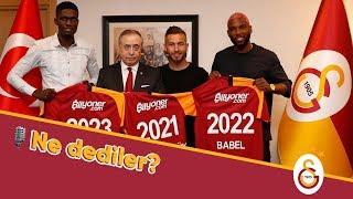 🎙✍  Başkanımız Mustafa Cengiz ve Yeni Transferlerimizden Açıklamalar - Galatasaray