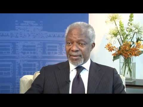 Kofi Annan – Interview at the Global Centre for Pluralism, May 23, 2013