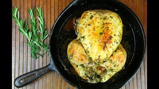 Simple Herb Roasted Chicken #TastyTuesdays | CaribbeanPot.com thumbnail