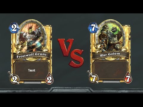 The Perception of Fairness: War Golem Vs Frostwolf Grunt